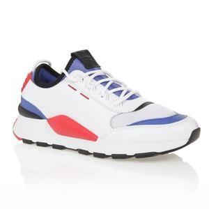 Paire de chaussure PUMA RS-0 Sound - Tailles 37.5 à 47.5, Blanc, bleu et rouge