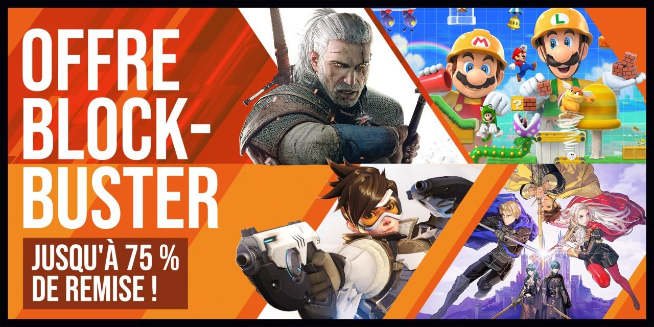 Sélection de jeux en promotions sur Nintendo Switch (Dématérialisé)