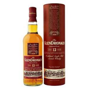 Bouteille de Whisky Glendronach 12 ans Single Malt 43% - 70cl