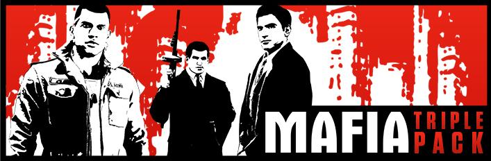 Mafia Triple Pack : Mafia + Mafia II + Mafia III sur PC (Dématérialisés)