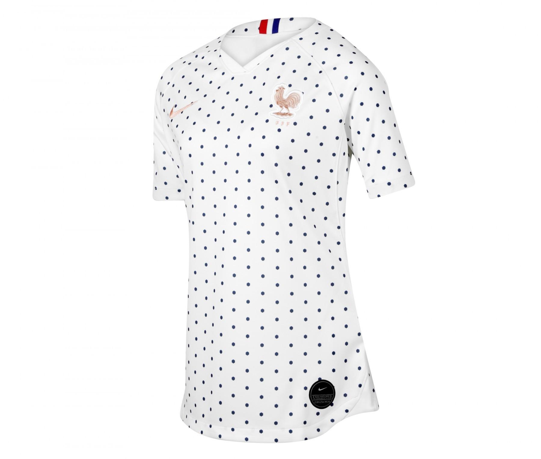 Maillot de football France Extérieur 19/20 pour Femme - Taille XS à L