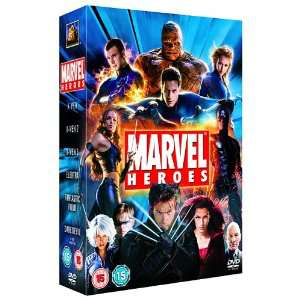 Coffret Marvel Heroes: 6 DVD [Import anglais]