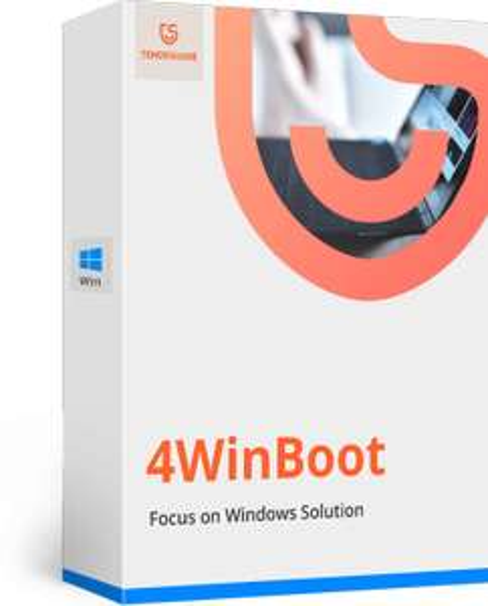 Logiciel Tenorshare Windows Boot Genius gratuit - tenorshare.com
