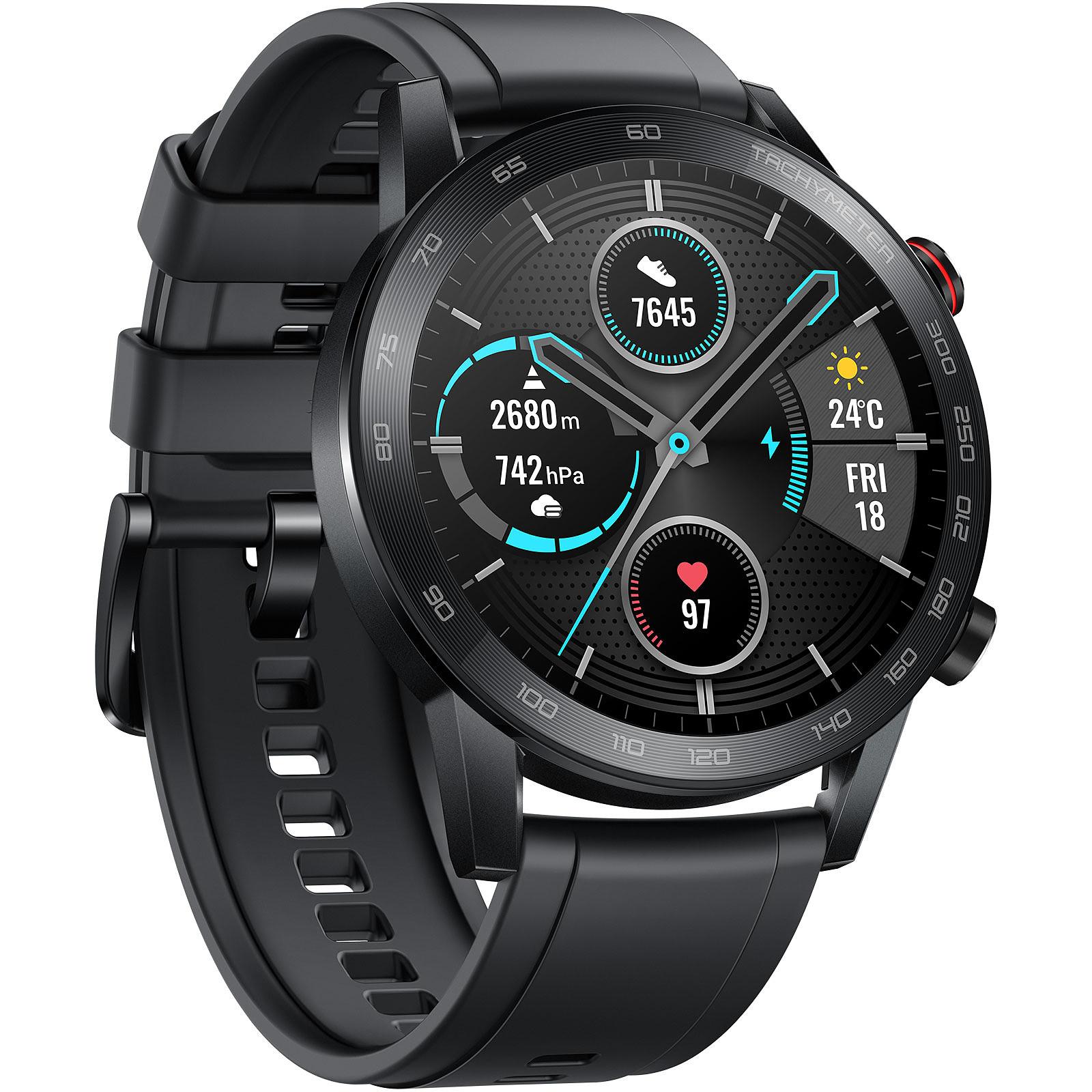Montre connectée Honor Magic Watch 2 (46 mm) à 134.96€ & Magic Watch (Noir/Rouge) à 83.41€