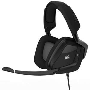 Casque audio Corsair Void Pro RGB - blanc ou noir