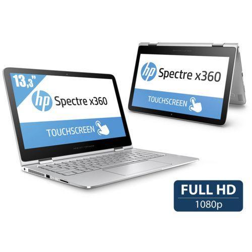 PC Hybride Tactile 13,3'' HP Spectre X360 13-4106NF (i5-5200U, Full HD, 4 Go RAM, SSD 128 Go) - Argent