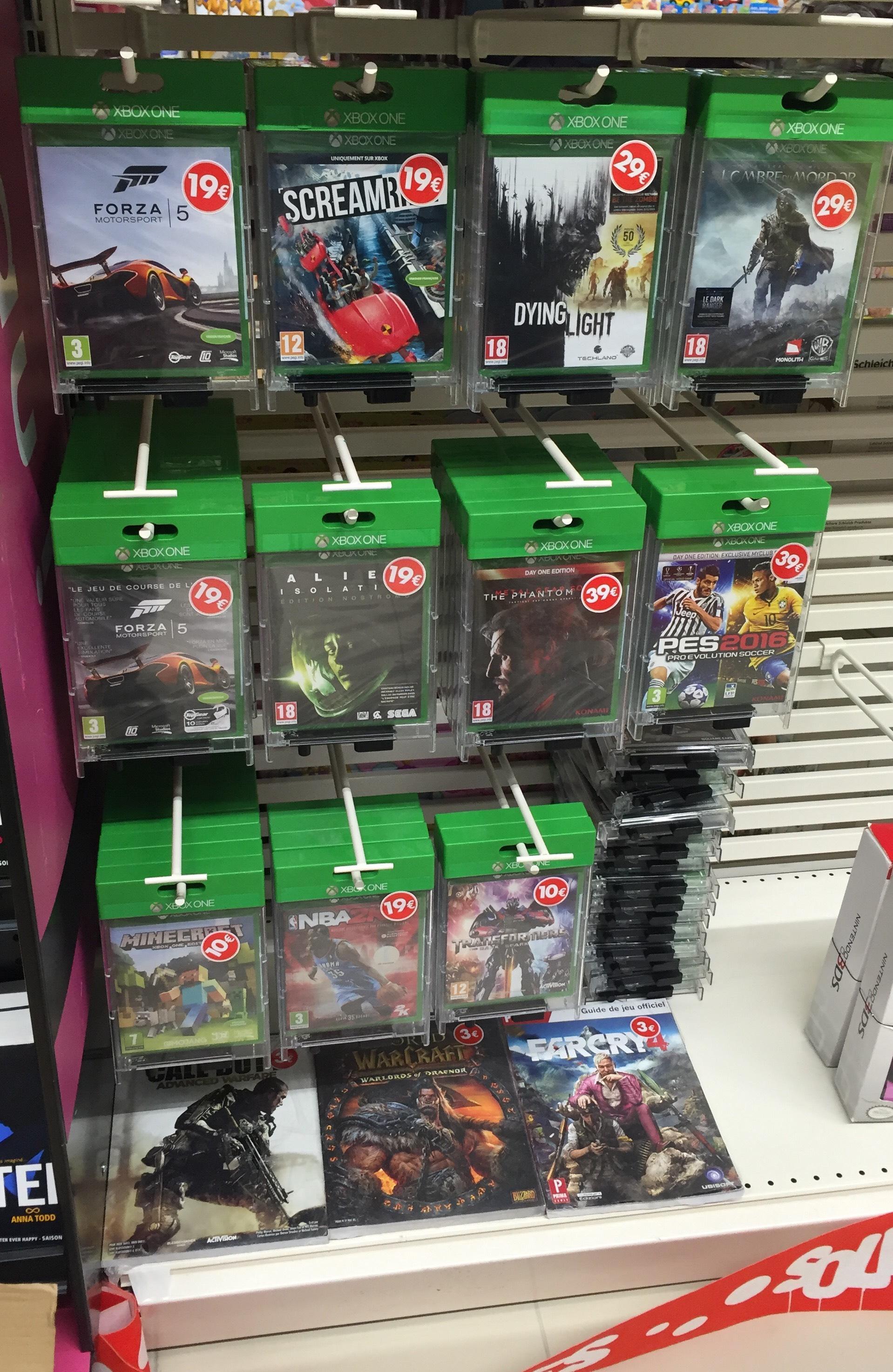 Sélection de Jeux Xbox One en promotion - Ex : Jeu Minecraft sur Xbox One