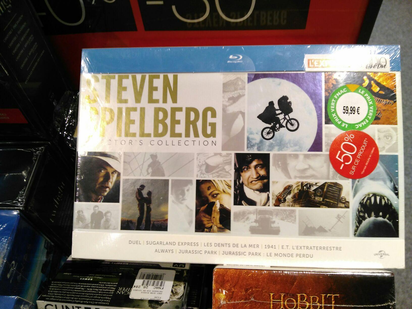 Coffret Blu-ray Steven Spielberg - Edition Limitée