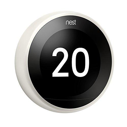 Thermostat Connecté Nest Learning (3ème Génération) - Blanc