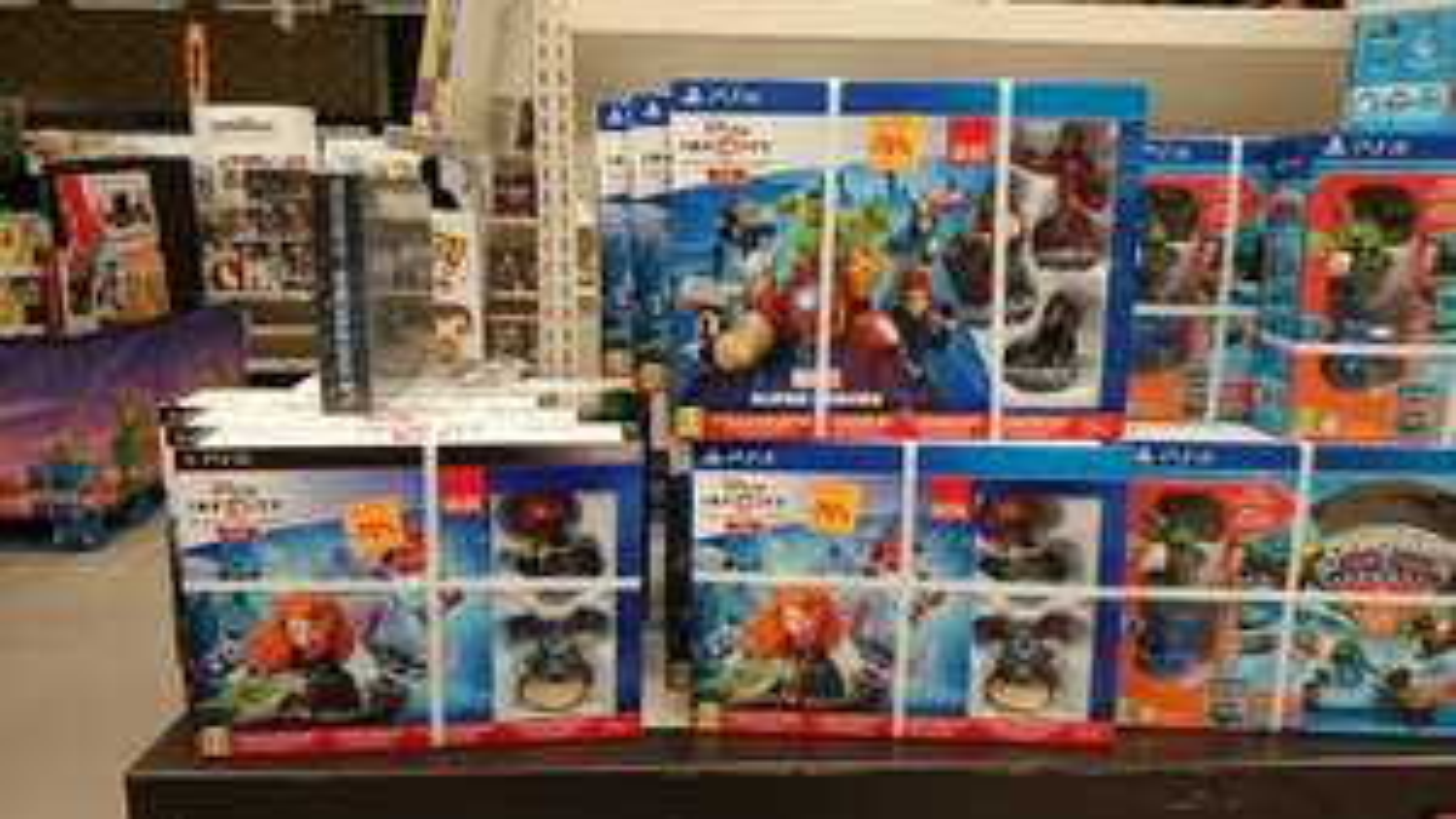 -75% sur les Pack Disney Infinity - Ex : Disney Infinity 2.0 avec deux figurines sur PS4
