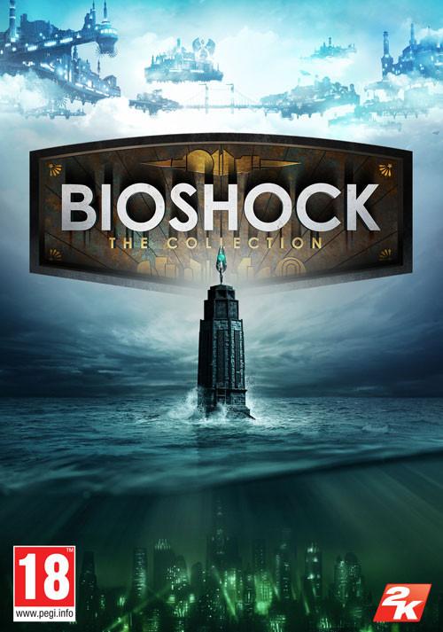 Bioshock The Collection : Bioshock 1 Remastered + Bioshock 2 Remastered + Bioshock Infinite Gold sur PC (Dématérialisé - Steam)