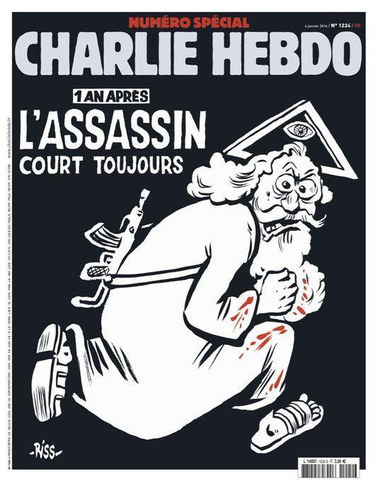 Abonnement d'un an Charlie hebdo