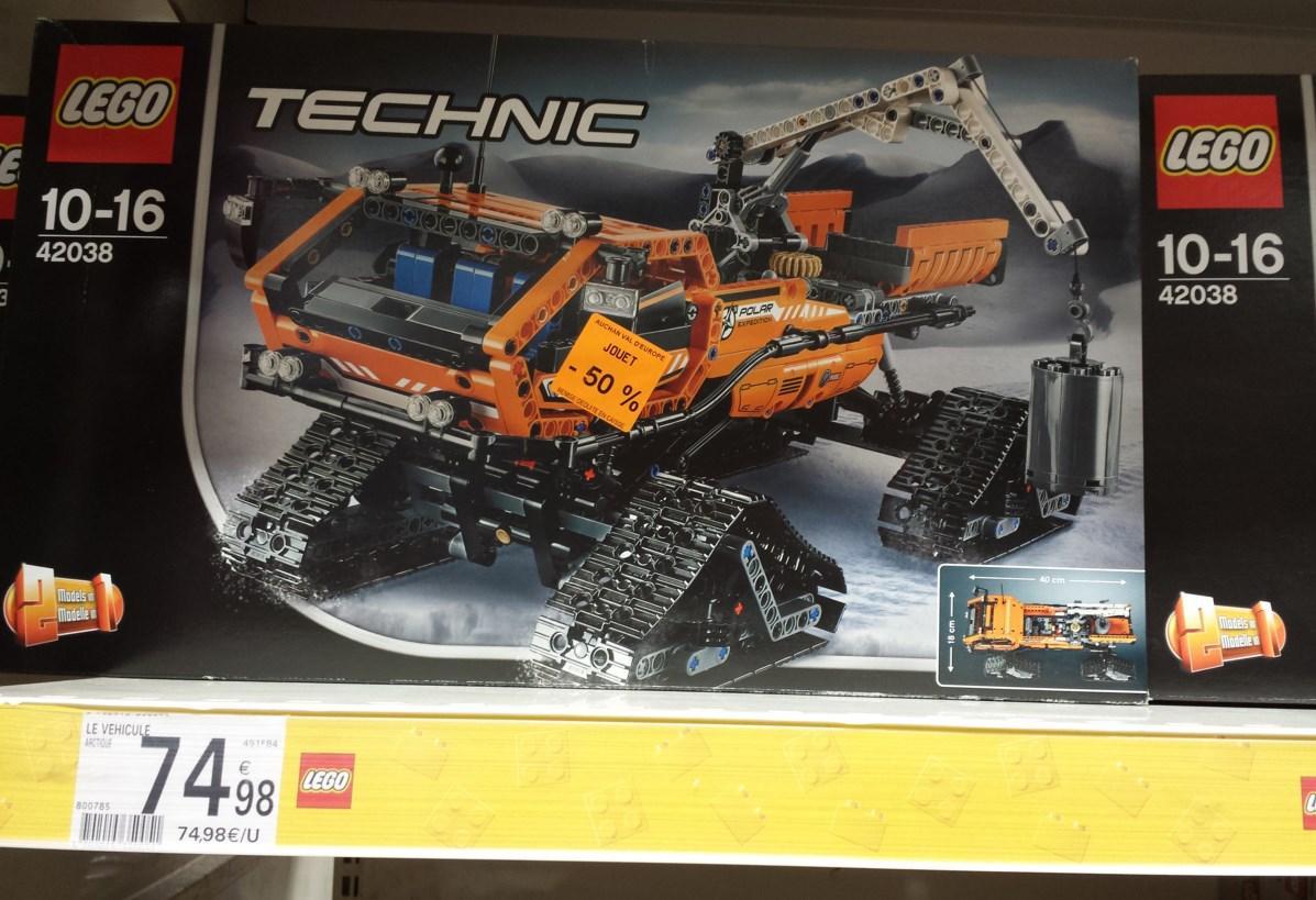 Jeu de construction Lego Technic n°42038
