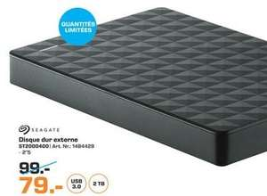 """Disque dur externe 2.5"""" Seagate USB 3.0 - 2 To"""