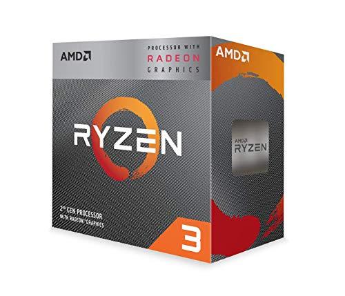 Processeur AMD Ryzen 3 3200G - 4 Coeurs, 3,50GHz, Vega 8