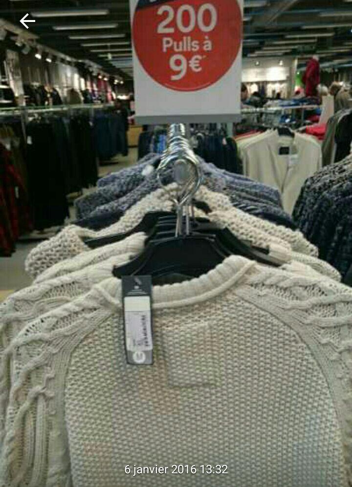 Pull homme en laine