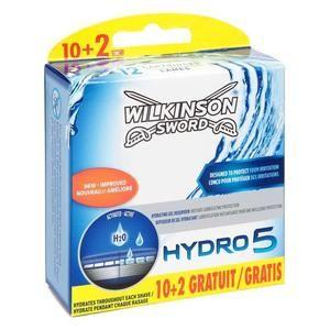 Lot de 12 Lames Wilkinson Hydro 5