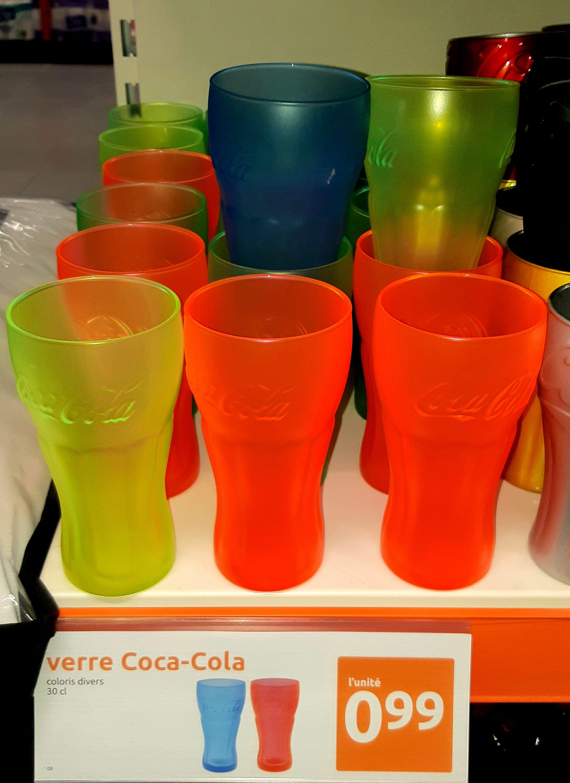 Verre Fluo Coca Cola, 33cl - Gauchy (02)