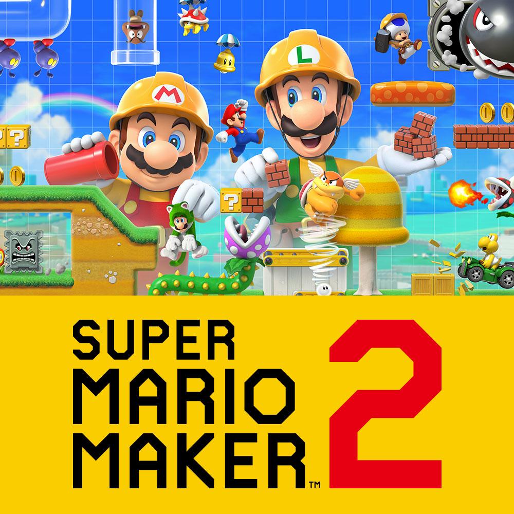 Super Mario Maker 2 sur Switch (dématérialisé)