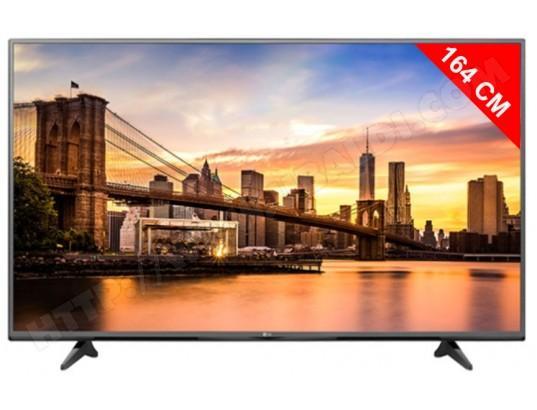 """TV LED 65"""" LG 65UF680V 4K (Avec ODR de 20%)"""