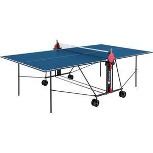 Table de Tennis de table Sponeta - Bleu et Noir, Compacte, Usage intérieur (+ Eventuelle Négociation)