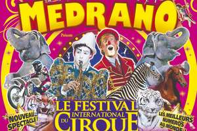 Place pour le Cirque Medrano en tribune d'honneur - Rennes La Prevalaye (35) - rennes.MaVille.com