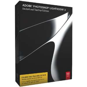 Adobe Photoshop Lightroom 3 Anglais - Edition Étudiant et Enseignant