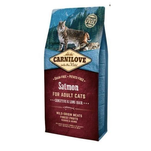Croquettes pour chats adultes Carnilove au Saumon - 6 Kg (Vendeur Tiers)