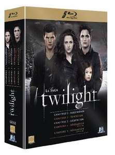 Coffret Blu-ray Twilight La saga complète