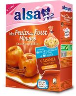2 Sachets cuisson pomme au four caramel ALSA