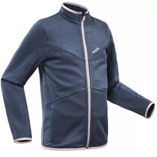 Sous-veste de ski pour Enfants Wedze 900 bleue - 6 à 14 ans