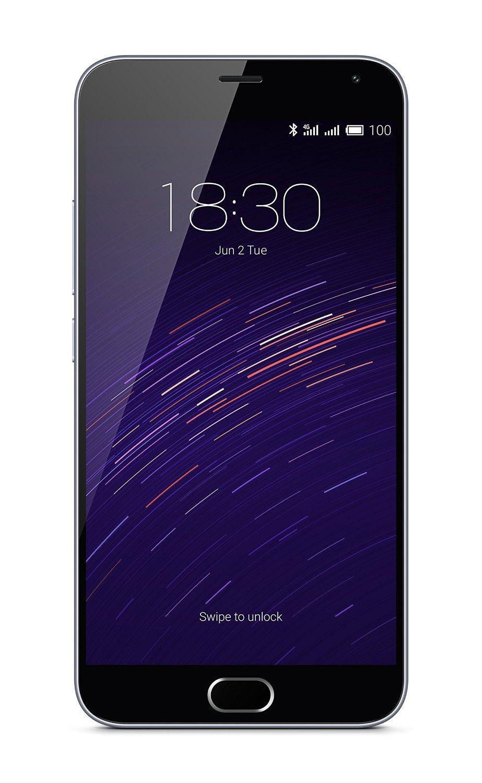 """Smartphone 5.5"""" Meizu M2 Note 16 Go Blanc 4G avec carte micro sd de 8Go (via ODR 50€) - Double sim"""