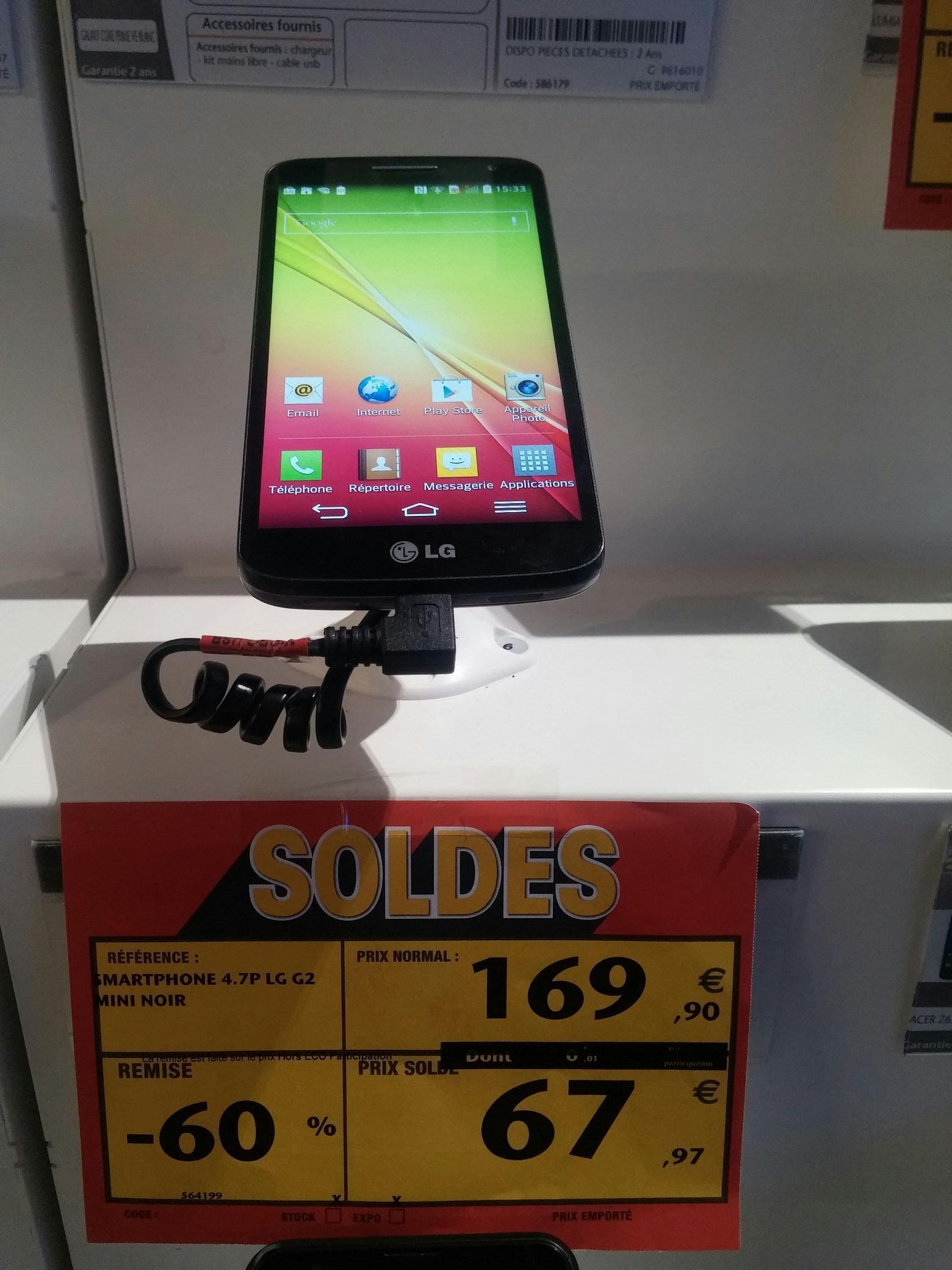 Smartphone LG G2 Mini 8Go Noir