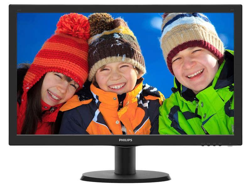 "Ecran PC 23,6"" Philips 243V5QHAB - MVA, Full HD"
