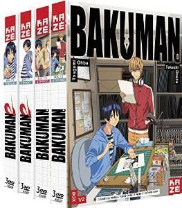 Coffret 12 DVD Bakuman - Intégrale Saison 1 & 2 Dvd