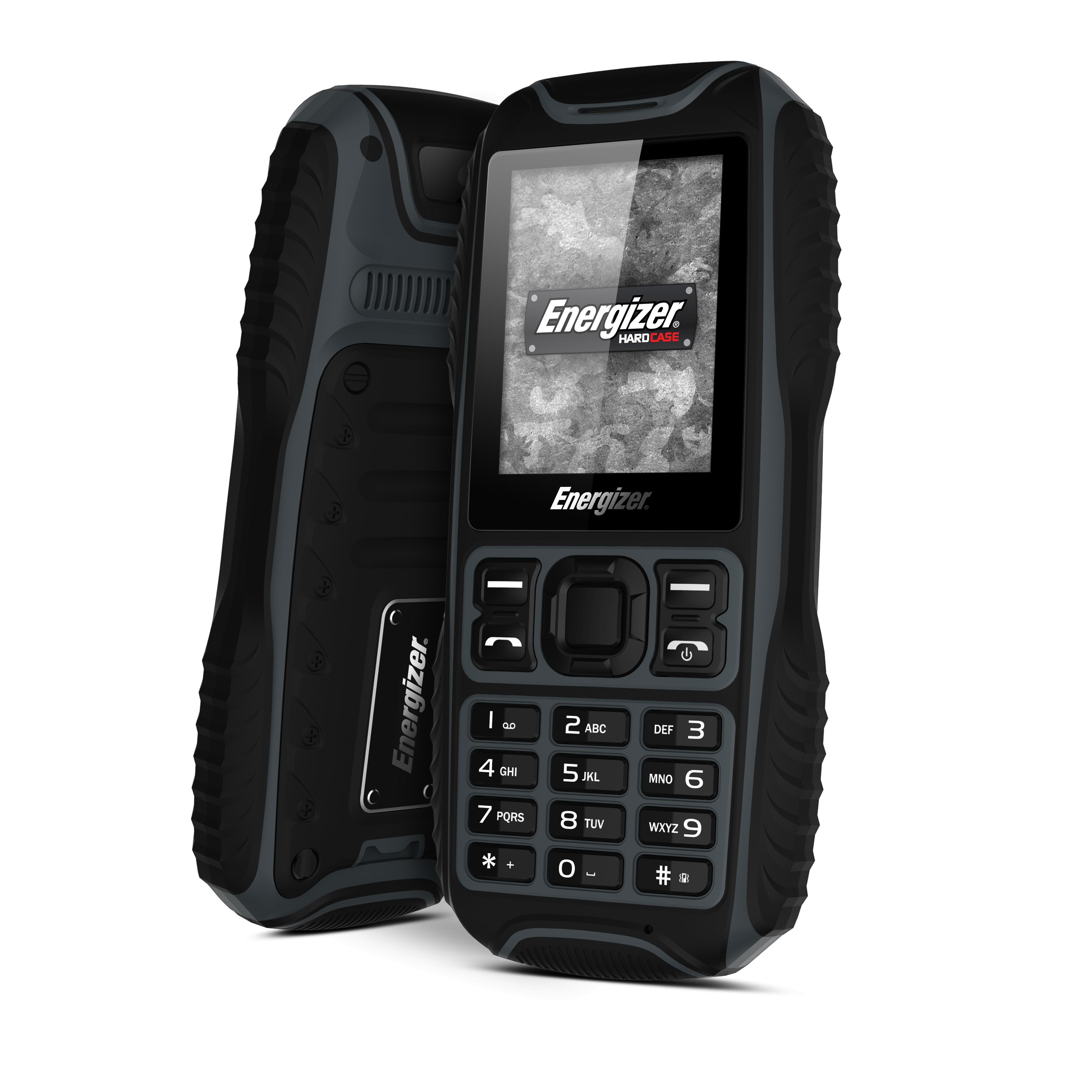 Téléphone Durci Energizer Energy 200 8 Go Double SIM Noir