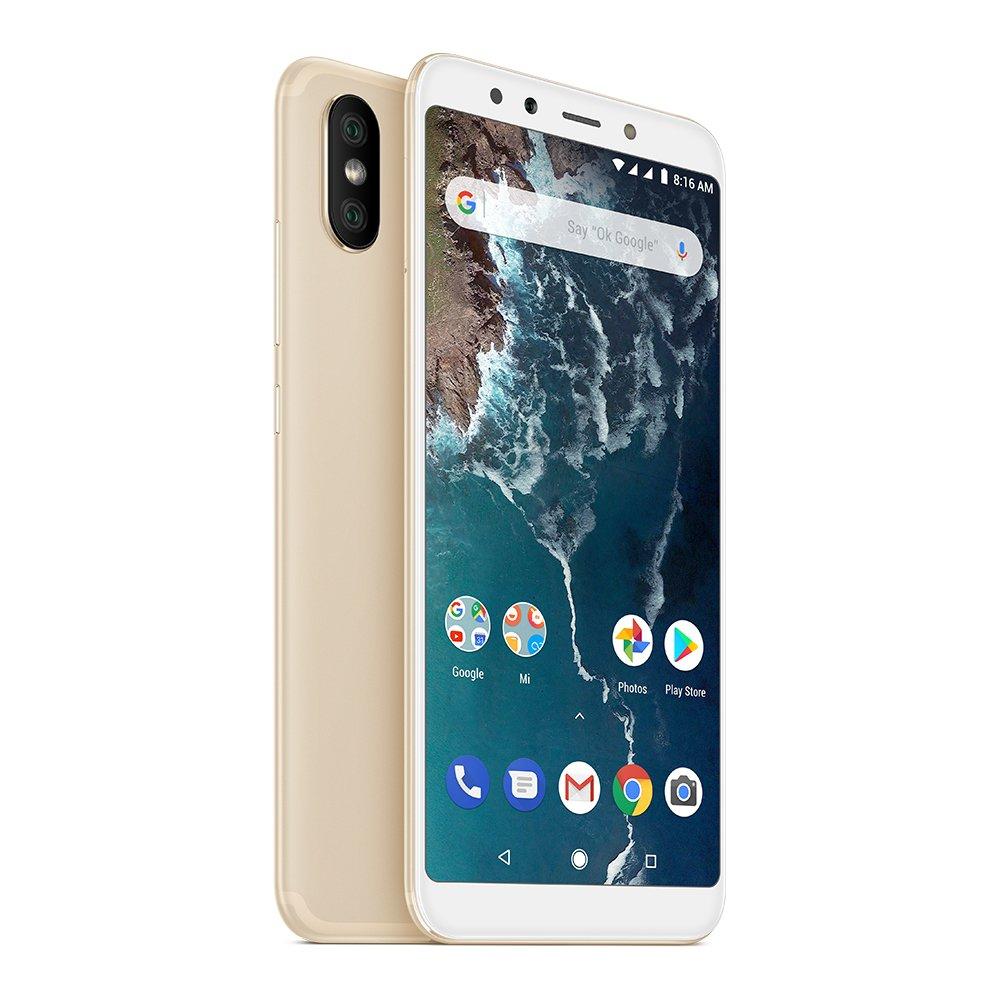 """Smartphone 5.99"""" Xiaomi Mi A2 - 32 Go, Or"""