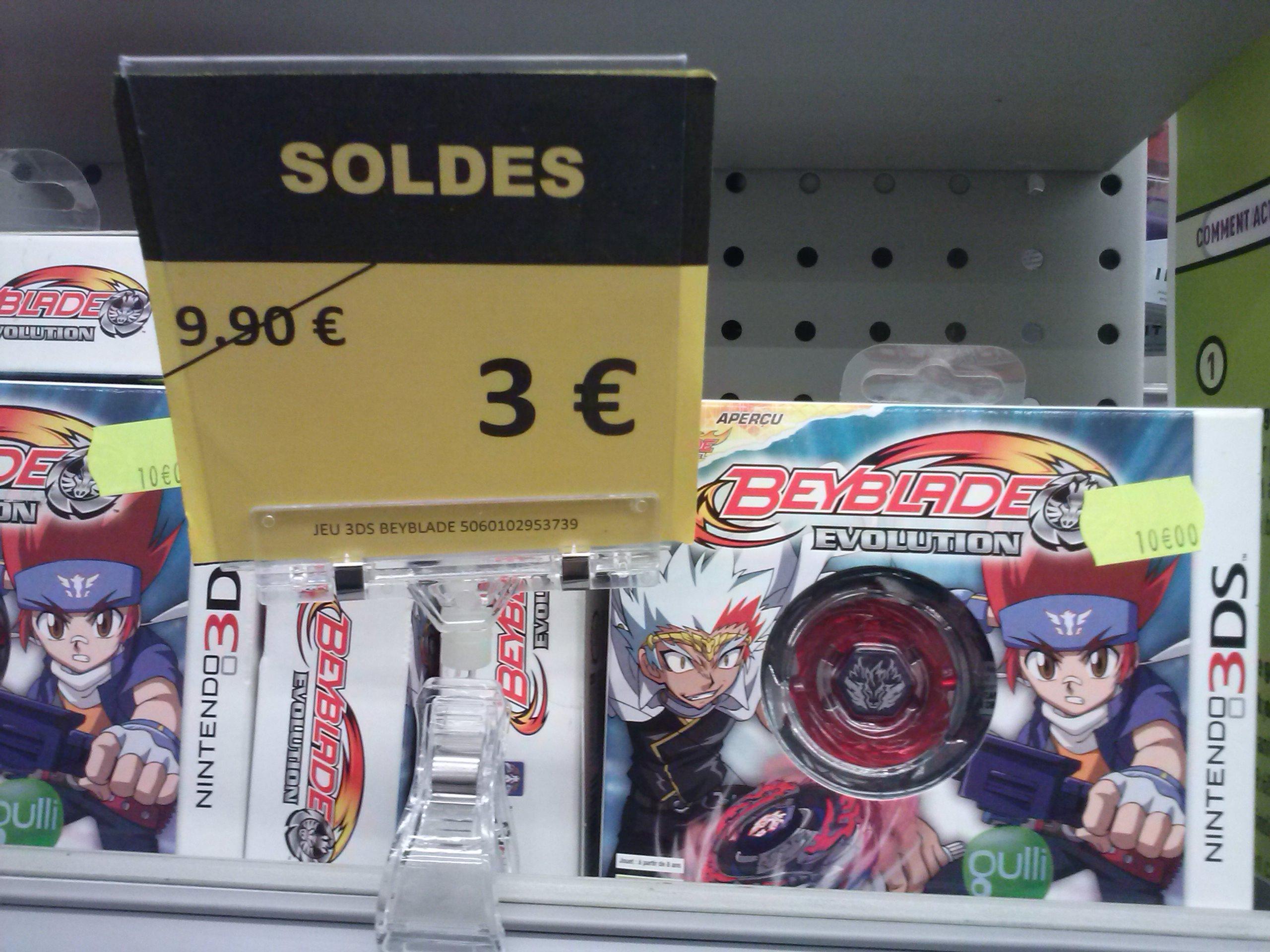 Jeu Nintendo 3DS Beyblade Evolution avec Toupie