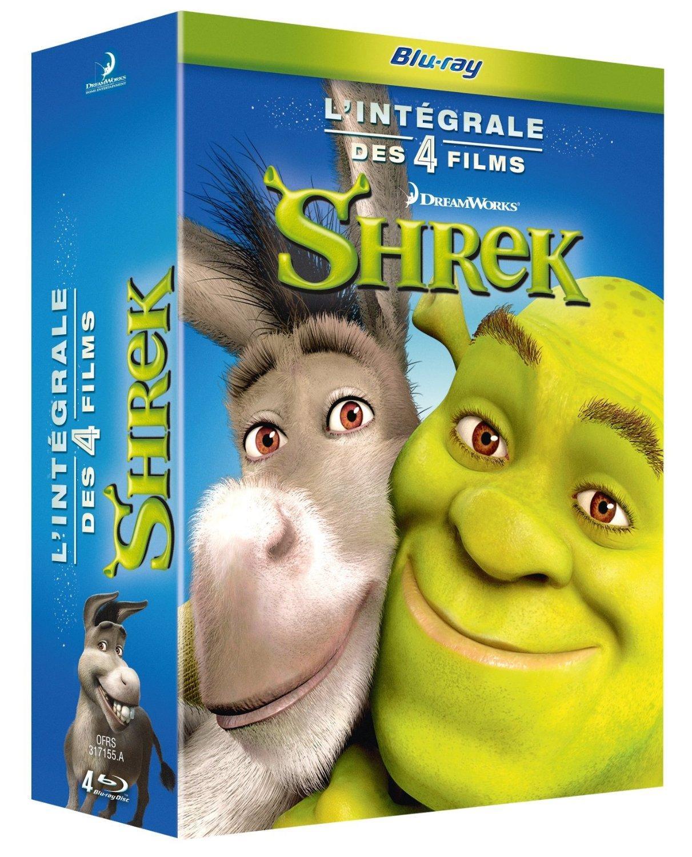 Coffret Blu-ray Shrek l'intégrale