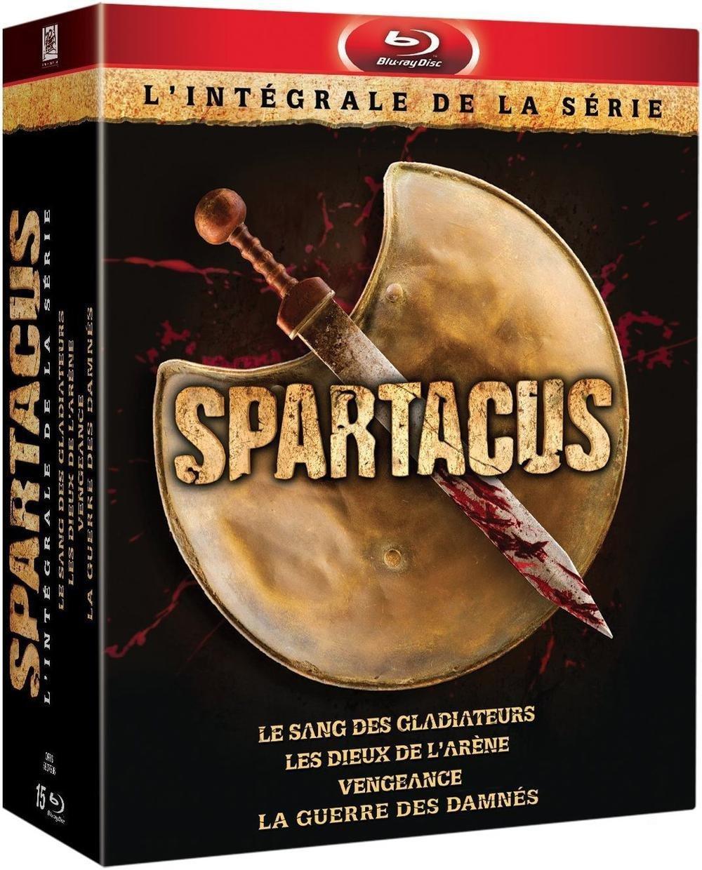 Coffret Blu-ray Spartacus - L'intégrale (français)