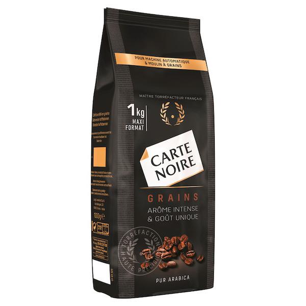 Lot de 3 Paquets de Café en grains Carte Noire - 3 x 1Kg