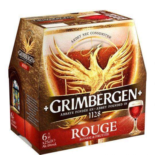 Pack de 6 bières Grimbergen différentes variétés (6x25cl) - Saint-Claude (39)