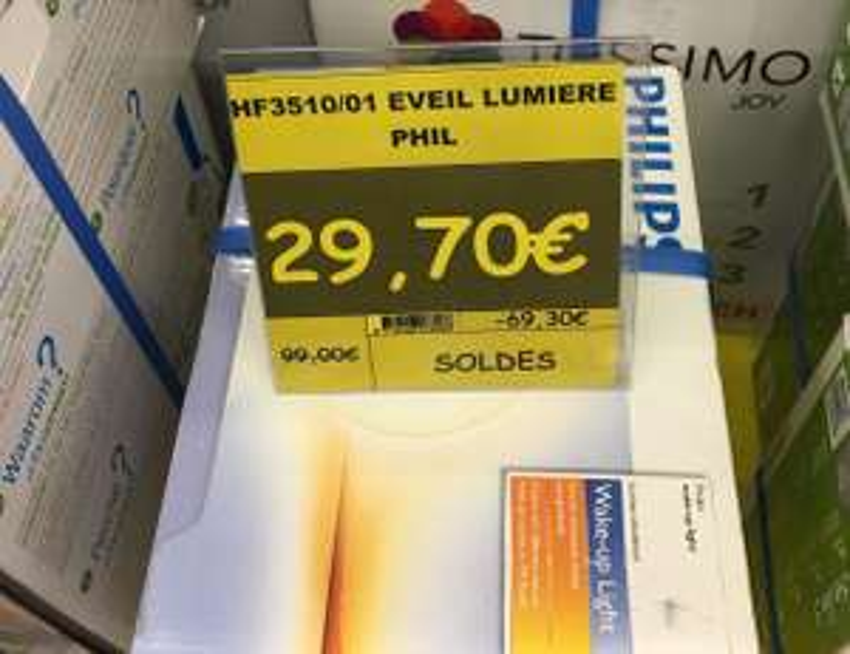 Eveil lumière Philips HF3510/01