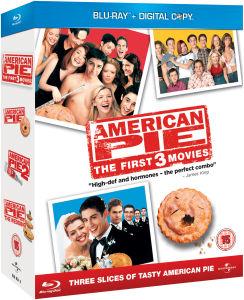 Coffret Blu-ray American Pie 1 à 3 (Avec copies digitales)