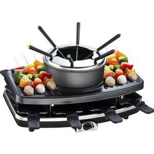 Appareil à fondue + Raclette Grill Continental Edison FD12881