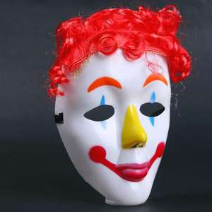 Masque de clown pour costume