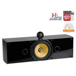 Enceinte centrale THX Select Crystal Acoustics THX-C noir laqué et frêne noir