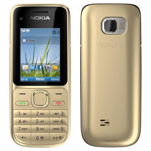 A partir de ce soir : Téléphone Nokia C2-01 Gris avec mobicarte