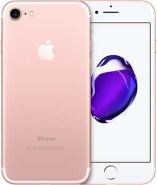 "Smartphone 4.7"" Apple iPhone 7 (HD+, A10, 2 Go de RAM, 32 Go, rose) - reconditionné État Correct (frais de port inclus)"