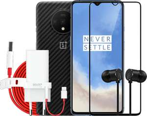 """Smartphone 6.55"""" OnePlus 7T - 128Go + 6 Accessoires offerts"""